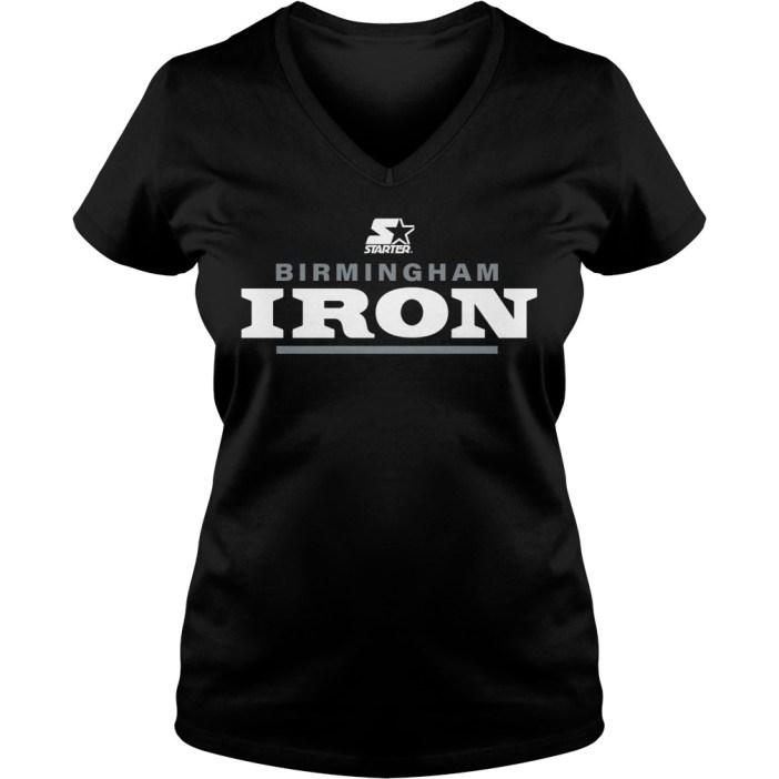 Starter birmingham iron v-neck t-shirt