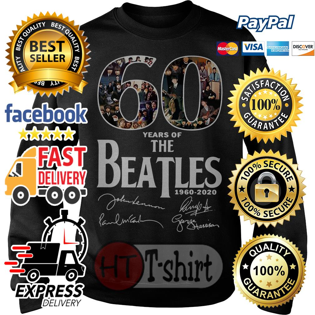 60 Years Of The Beatles 1960-2020 Sweater