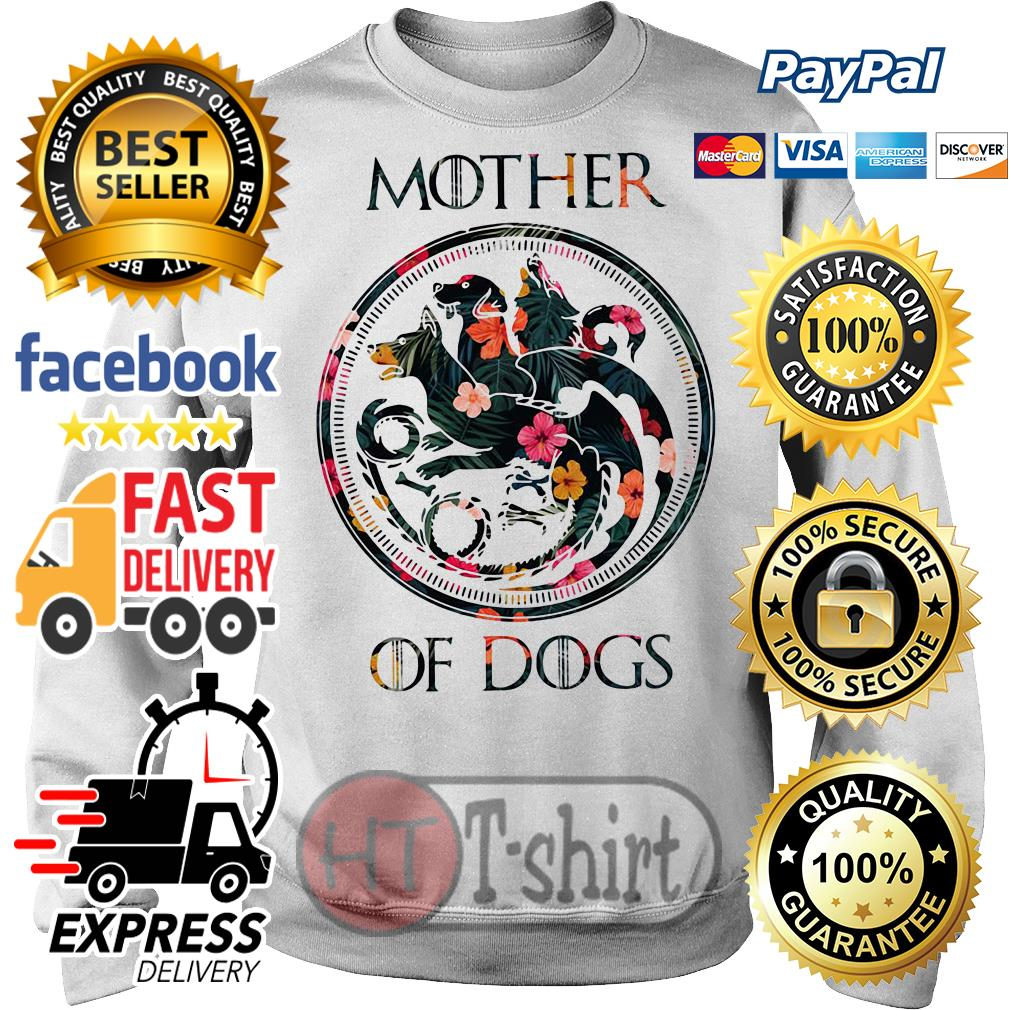 Flower mother of dogs game of Thrones Sweater