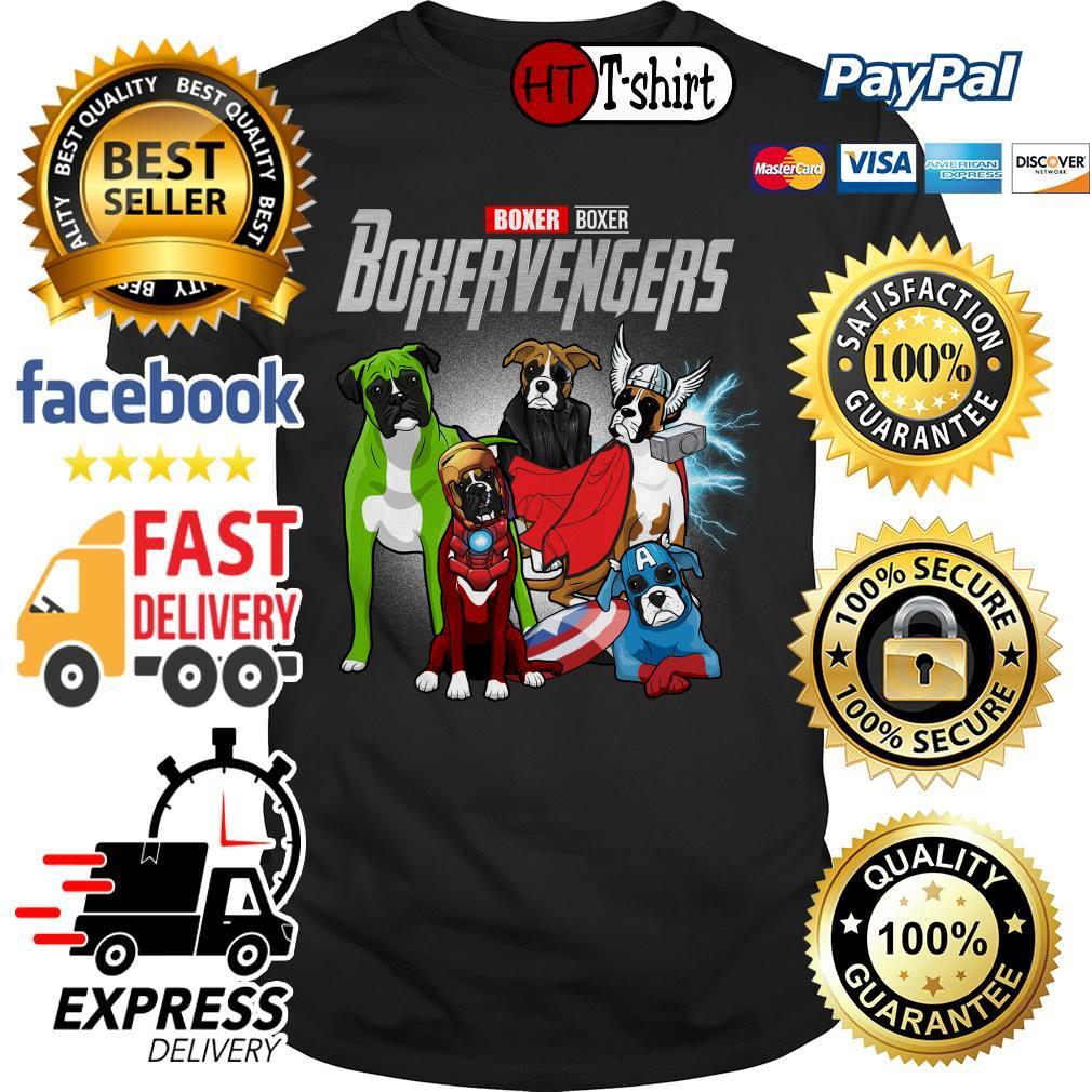 Marvel Avengers Endgame Boxer Boxervengers shirt
