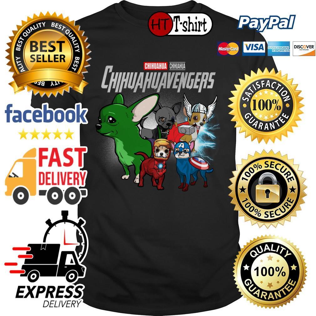 Marvel Avengers Endgame Chihuahua Chihuahuavengers shirt