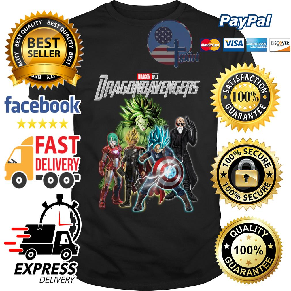 Dragon ball Dragonbavengers Avengers Endgame shirt