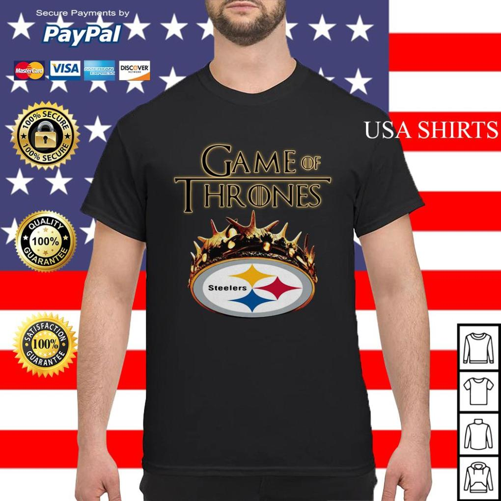 Pittsburgh Steelers Game of Thrones Crown shirt