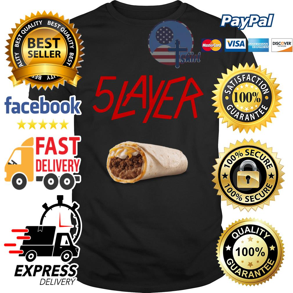 Taco bell 5 layer shirt