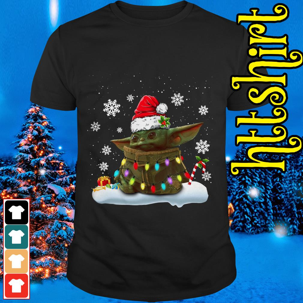 The Mandalorian baby Yoda Christmas shirt, sweater