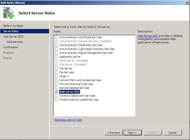Instalando e Configurando IIS 70  H two J Systems
