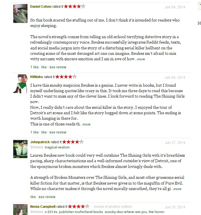 We can't embed these reviews. Click to read them instead.