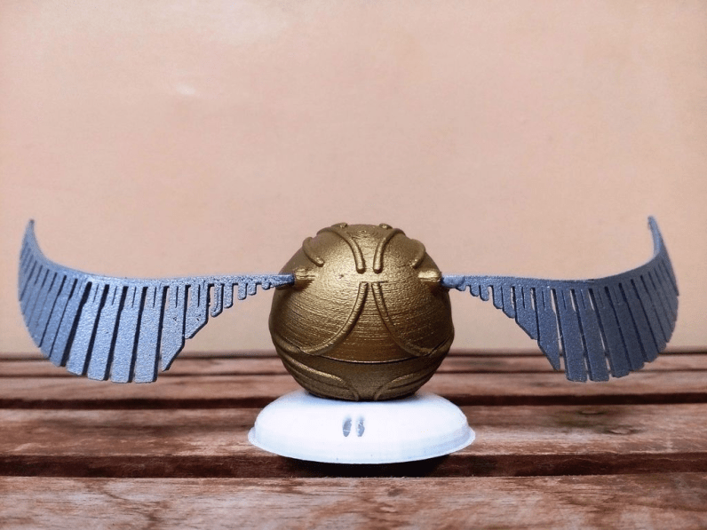 Harry Potter Golden Snitch Ring Box Pic 4