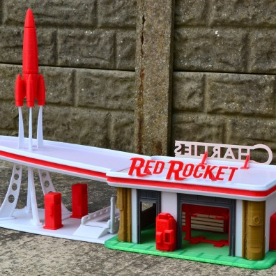 Fallout 4 Red Rocket 3D Print 2