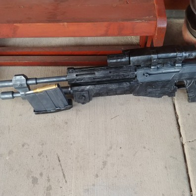 Halo Reach Sniper Rifle 3D Print Finished 1
