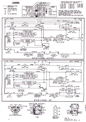 Kenmore Dryer Wiring Diagrams : kenmore, dryer, wiring, diagrams, Kenmore, 110.62832100