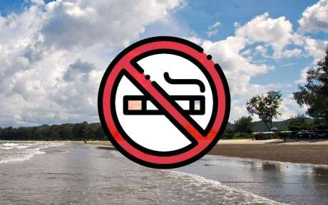 Smoking ban on the beaches initiating in Thailand