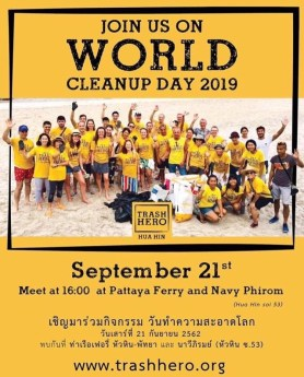 Let's Join Trash Hero On World Cleanup Day 2019