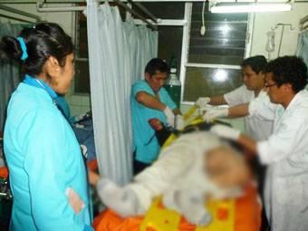 Choque frontal  entre ómnibus deja dos muertos  y 17 heridos en Chancay.