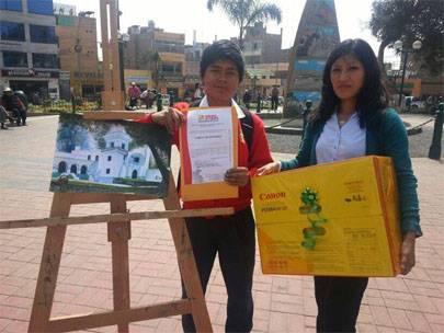 dibujo y pintura Huaral