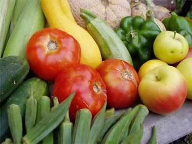 Consuma frutas verduras