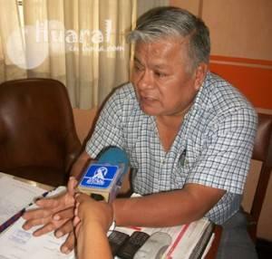 Dirigente de transporte, Julio Rojas Napa