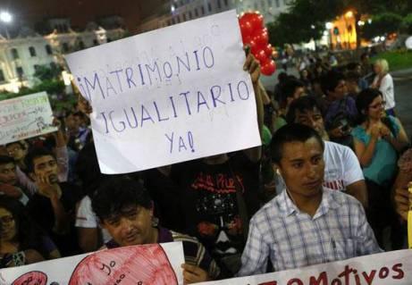 Anuncian marcha multitudinaria aprobacion de union civil huaralenlinea
