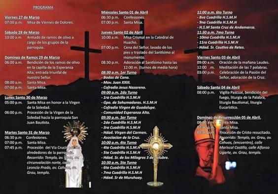 programa semana santa 2015 huaral sanjuna bautista-huaralenlinea
