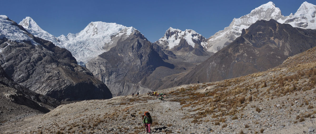 cordillera blanca hiking