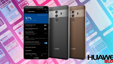 Huawei Mate 10 Pro kijelző beállítások