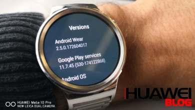 Android Wear 2.5 frissítés a Huawei Watch-ra