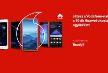Huawei nyereményjáték a Vodafone-nál