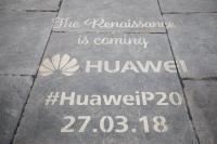 Londonban a Huawei P20