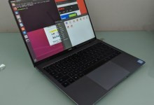 Az Ubuntu is megy a MateBook X Pro notebookon