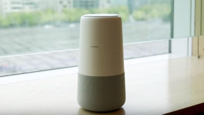 Hangszórót és 4G routert kombinál a Huawei AI Cube