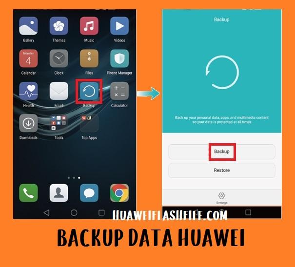 backup data honor