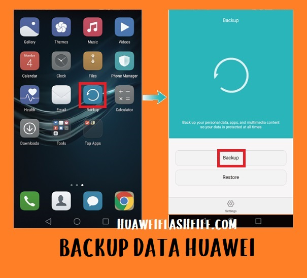 backup data honor