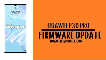 How to Flash Huawei P30 Pro Stock Firmware – All Firmwares