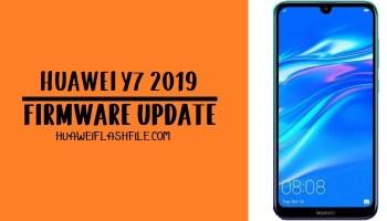 How to Flash Huawei Y7 2019 Stock Firmware- Huawei Firmware
