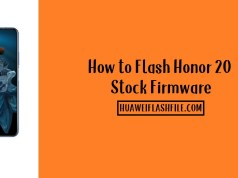 How to Flash Honor 20 Stock Firmware – All Firmwares