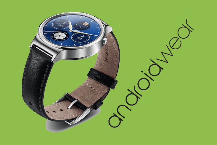 Huawei Watch 1 krijgt Android Wear 2.0