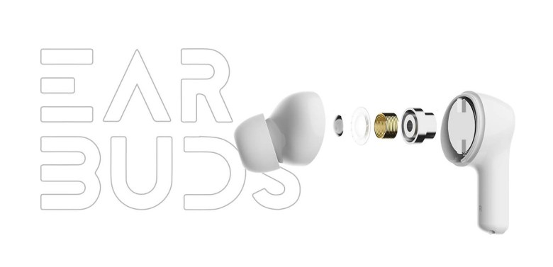 Vue éclatée des HONOR CHOICE True Wireless Earbuds