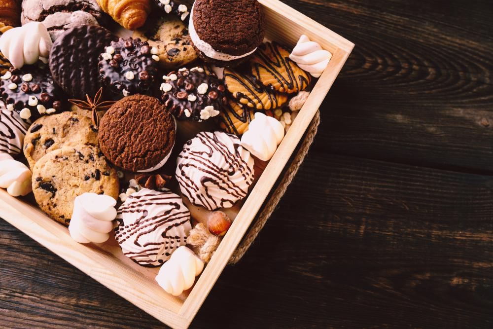 Bezwijk voor de beurs van de suikerwaren ISM