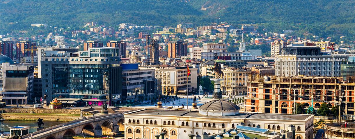 Contact day: de Macedonische markt