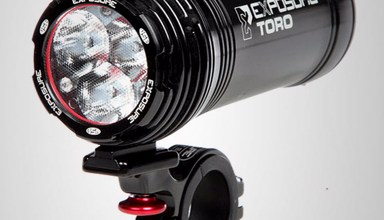 Exposure bike light