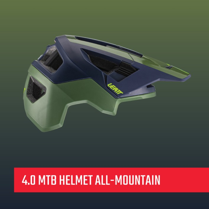 Leatt 4.0 helmet all-mountain version