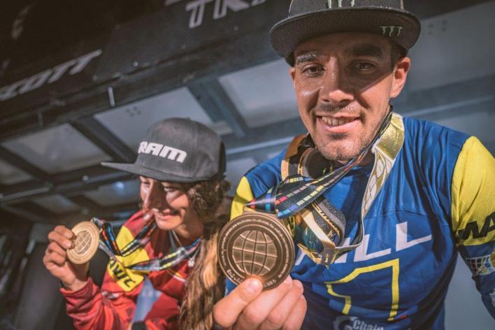 Sam Hill wins the 2019 EWS title in Zermatt