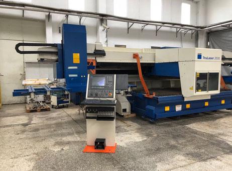 Trumpf Trulaser 2030 laser cutting machine