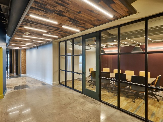 Conference space is one of the amenities of the Innovation Suites.