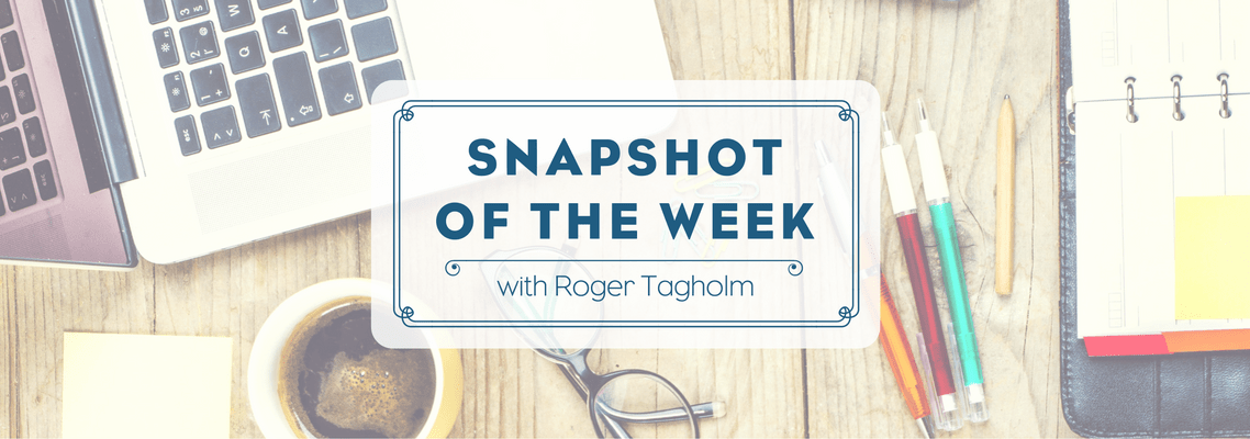 Snapshot of the Week – 11 November 2016