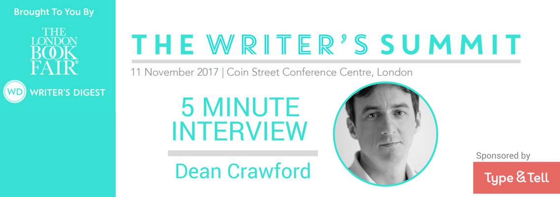 5 Minute Interview Dean Crawford