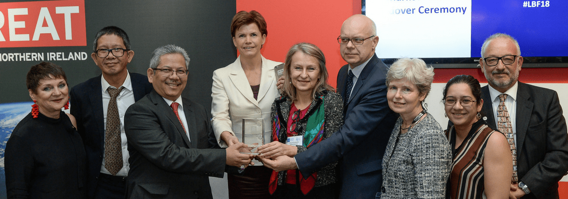 LBF celebrates Market Focus handover from Baltic Countries 2018 to Indonesia 2019