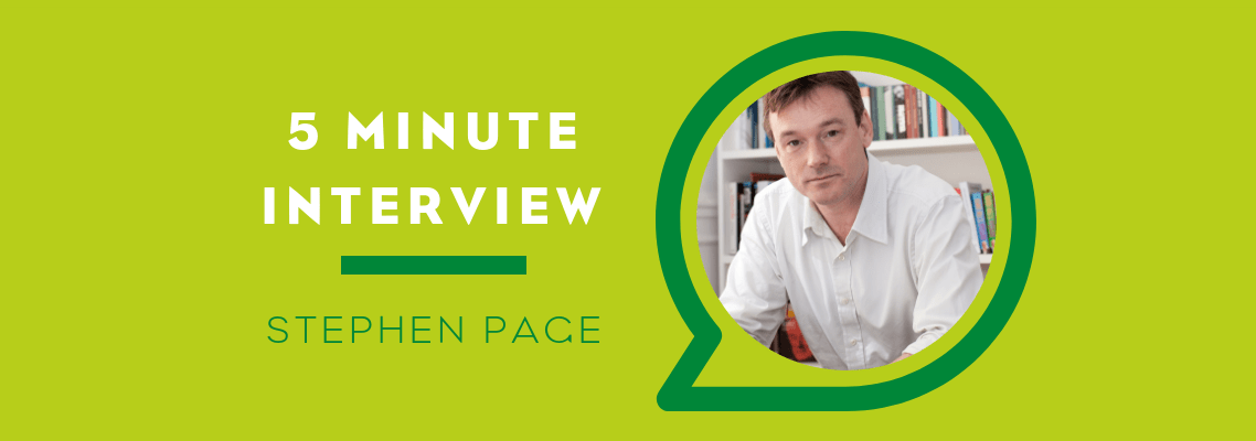 Five Minutes With Stephen Page
