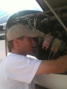 MAF Pilot Mechanic David Harms