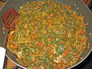 Congo dish called b'teku teku